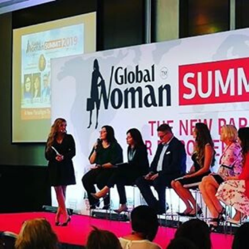 Global Woman Summit Panel Diskussion