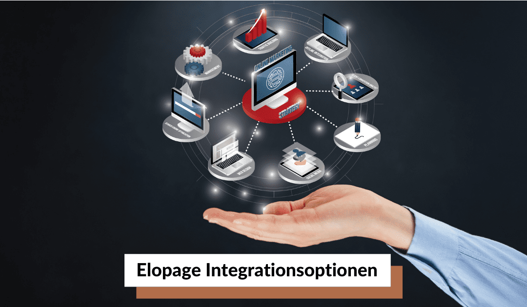 Elopage Integrationsoptionen