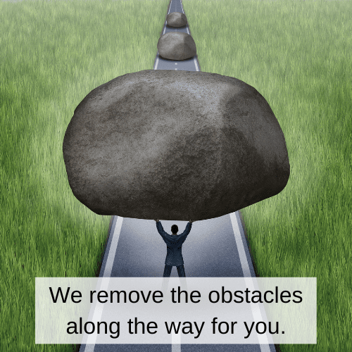 We remove the obstacles along your way